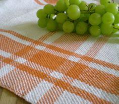 handwoven kitchen towel.