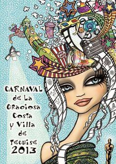 El Carnaval de Teguise ya tiene imágen propocional - http://gd.is/vCk2O4