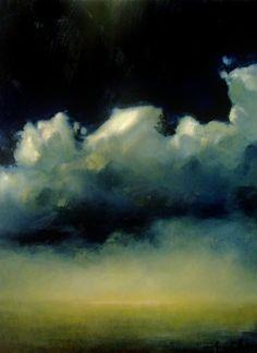 "Ambera Wellmann | Lift  24"" x 18""  Oil on Canvas  2008"