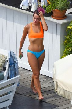Lily Allen Looks Almost Overdressed in a Bikini - fleshbot Soho House Hotel, Lilly Allen, Bikini Inspiration, Bikini Swimwear, Bikinis, Beautiful Legs, Bikini Bodies, Celebrity Gossip, Celebrity Pictures