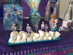 Frozen party Elena 2 años