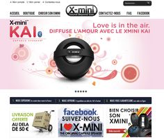 www.xmini.fr  site magento dédié au mini enceinte Xmini