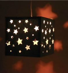 Sleepovers will be popular at your house when you hang this cool DIY paper lantern in your child's bedroom. Our template, card stock, wire and a socket cord will have everyone stargazing instead of watching TV.