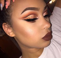 Copper cut crease