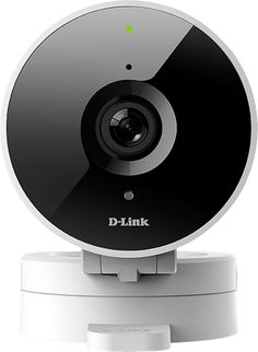 D-Link - DCS Indoor 720p Wi-Fi Network Surveillance Camera - White