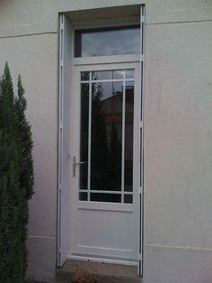 1000 id es sur volet pvc sur pinterest insert de chemin e porte carte grise et cabines de douche for Porte vitree exterieure