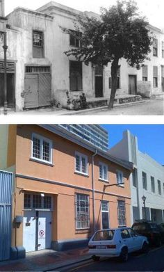 Then and now of some of Cape Town's buildings.