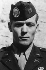 "Major Richard ""Dick"" D. Winters (January 21, 1918 – January 2, 2011) United States Army officer and decorated war veteran. He commanded Company ""E"", 2nd Battalion, 506th Parachute Infantry Regiment, 101st Airborne Division, during World War II. He is featured in the mini-series Band of Brothers."