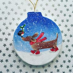 Christmas Decorations Dachshund