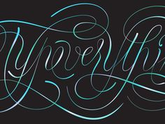 Lettering#Repin By:Pinterest++ for iPad#