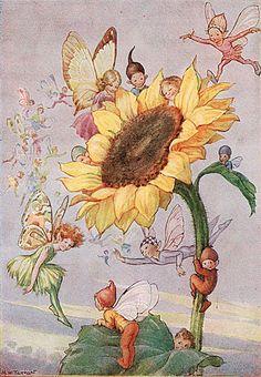 Illustration by Margaret W. Tarrant (1888-1959)