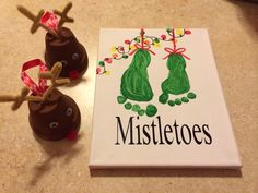 Christmas craft | kids | mistletoes