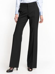 Tall Pants For Tall Women - Spot Palazzo Pants In Black At Long ...