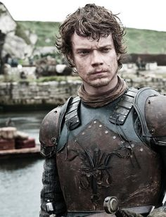 """""""Game of Thrones"""" star Alfie Allen, who plays Theon Greyjoy on the series, . Game Of Thrones Wiki, Game Of Thrones Theon, Game Of Thrones Characters, Eddard Stark, Sansa Stark, Ned Stark, Acteurs Game Of Throne, Hottest Game Of Thrones, Terrible Memes"""