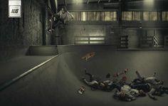 Alis Skatewear: For dedicated riders Advertising Agency: TBWA & BBDO, Copenhagen, Denmark