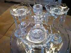 Cambridge Arms Elegant Glass-Set of 20 by TheBohemianRoseHome
