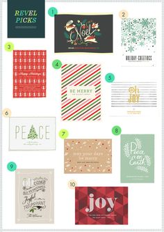 REVEL Picks: Christmas Cards