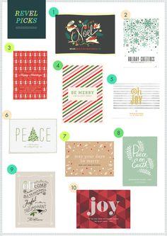 REVEL Picks: Christmas Cards