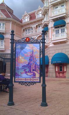 Dedicated to DLP – Celebrating Disneyland Paris. Disneyland Paris Photos of the Day: 1st September 2011 - New Posters!