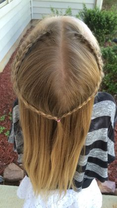 Lace French braid