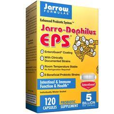 Jarrow Formulas, Jarro-Dophilus EPS, 120  Capsules - 한국은 유산균을 너무 비싸게팔지.모든 영양보조제는 iherb에서 구매하면 저렴! 난 현명한 남편이니까!