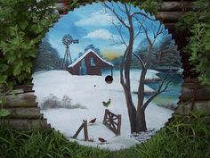 free images to paint on sawblades | ... Woodyswag Recycle 4 U primitive wood saw blade signed painting art