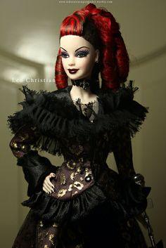 La Reina De La Nuit, OOAK Fashion Doll