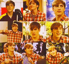 Big Time Rush  Kendall Funny Faces!  Can't get enough of Kendall