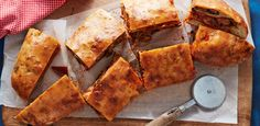 Supreme Pizza Garbage Bread By Food Network Kitchen