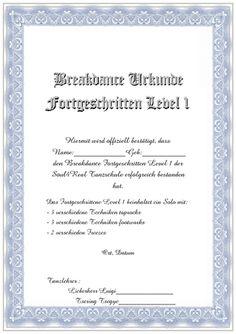 Vorlage Professionelle Zertifikate wie Teilnahme-Zertifikate und ...