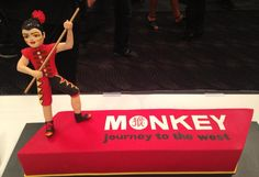 The Sweet Art Opening Night Celebration Cake on Friday night at Riverside Theatres. A fantastic night for everyone. Journey To The West, Opening Night, Theatres, Celebration Cakes, Behind The Scenes, Monkey, Friday, Celebrities, Sweet