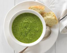 Pea, Pear and Rocket Soup recipe from Food in a Minute Great Recipes, Soup Recipes, Favorite Recipes, Food In A Minute, Clear Fruit, Pureed Soup, Mini Foods, Food Inspiration, A Food