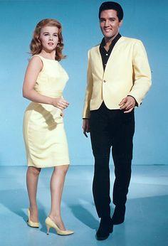 """Ann Margret y Elvis Presley en """"Cita en Las Vegas"""" (Viva Las Vegas), 1964"""
