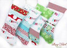 YOUR CHOICESet of 4 PatchworkAQUA Christmas by Bagzgirl on Etsy, $82.00