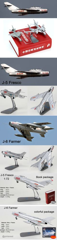 Chinese Air Force Shenyang J-5 / F-5 Fresco Fighter Zinc alloy model