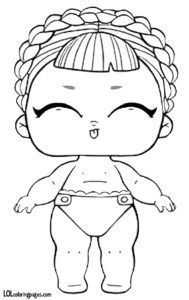 Lil Ice Sk8ter Lol Surprise Doll Coloring Page Dinosaur Coloring Pages Coloring Pages Lol Dolls