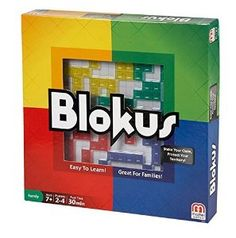 September 2016 - What I'm Playing - Board Games - Blokus - Love this game! It's a strategy game for two to four players. The idea is to fill the board, will getting rid of all your pieces... but be careful, you don't want to close off your path as you attempt to block your opponents. (not an affiliate link, endorsement, or sponsorship) #Boardgames #FamilyNight #Games
