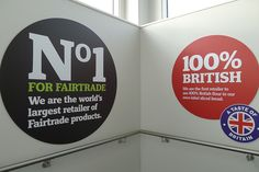 No.1 for Fairtrade and 100% British by J Sainsbury, via Flickr
