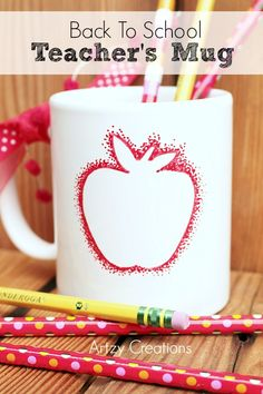 Create this fun and simple Back To School Teacher's Mug in minutes.