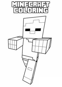 minecraft coloring pages on pinterest minecraft coloring pages