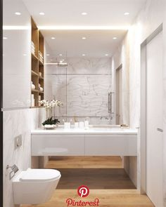 45 New Ideas Bathroom White Decor Inspiration Bathroom Design Small, Bathroom Colors, White Bathroom, Bathroom Interior Design, Home Interior, Modern Bathroom, Bathroom Ideas, Dream Bathrooms, Amazing Bathrooms