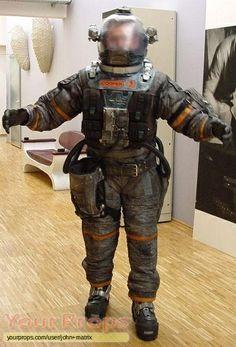 Event Horizon, Coopers Hero Space Suit original movie prop