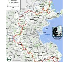 Bay Circuit Trail & Greenway Map