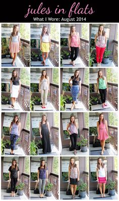 jules in flats: monthly outfit roundup (august 2014) personal style blog - business casual workwear on a budget