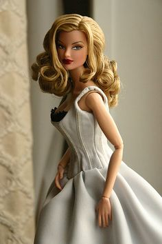 I know, Barbie. I love the hair, the dress, and the side eye...