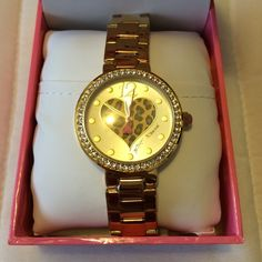 Betsey Johnson Watch BRAND NEW. NEVER USED. Betsey Johnson Accessories Watches