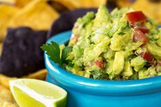 This creamy avocado dip is an entertaining favorite and also pairs well with a number of main dishes. You'll love its taste and texture.
