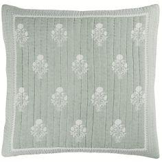 Amaya Block Print Quilt Mercury Glass Candle Holders, Quilt Bedding, Ballard Designs, Printed Cotton, Quilts, Floral, Pattern, Handmade, House