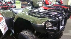 New 2016 Honda FourTrax® Foreman® 4x4 ES ATVs For Sale in North Carolina. The ATV that gets the job done. You probably have a go-to person in your life—someone that you can count on in a pinch, the one you can count on when you need something done, done right, done now, and done without excuses. On the jobsite or the shop floor, it's probably the shop foreman. And in the world of all-terrain vehicles that's the Honda Foreman. The Honda FourTrax® Foreman® has long been the workhorse of the…