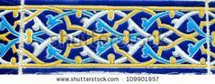 Old Colourful Turkish Tile by muharremz, via ShutterStock